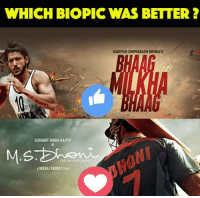 sushant singh rajput: WHICH BIOPIC WAS BETTER  RAKEYSH OMPRAKASH MEHRA'S  SUSHANT SINGH RAJPUT  ANEERAUPANDEYFUR