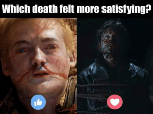 Memes, Death, and 🤖: Which death felt more satisfying?
