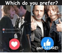 Memes, Vans, and 🤖: Which do you prefer?  @twdwalkerb  f fb.com/twdwal  and SHARE! #TheWalkingDead fans, I wish you would VOTE!! :) (y)  LIKE my Elliot Van Orman Productions page for more. (y)
