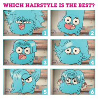 Vote for your fav Gumball hairstyle! 💁‍♂️ NationalHairDay Gumball tawog: WHICH HAIRSTYLE IS THE BEST  2  3  4  5  6 Vote for your fav Gumball hairstyle! 💁‍♂️ NationalHairDay Gumball tawog