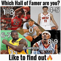 Memes, Nest, and 🤖: Which Hall of Famer are you?  4-5  NEST  6-  8 9  ECLEANESTCLIPZ  Like to find out Which are you? 🤔