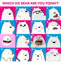 Memes, Bear, and Today: WHICH ICE BEAR ARE YOU TODAY?  2  3  4  5  6  7  8  9  10  12  13  14  15  16 Ice Bear feeling kind of sassy today 💁‍♂️ How about you? IceBearGram icebear webarebears