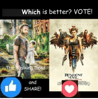 Memes, Vans, and Evil: Which is better? VOTE!  -TI AMMIkina ad  IDENT  EVIL  and  SHARE! #TheWalkingDead fans, I wish YOU would VOTE today. :) (y)  Photo credit: Elliot Van Orman Productions