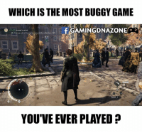 Gamers ???: WHICH IS THE MOST BUGGY GAME  AMINGDNAZONEA  f FIND  Kenway's secret  D Discover all of Kenway  smemorabila cottection 07-  L 56 m  17  Sneak A  YOU'VE EVER PLAYED Gamers ???