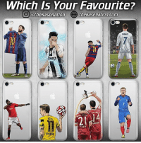 Best sports cases on the market made by @thekasenation - Over 60 more designs available at 👇🏻 WWW.THEKASENATION.COM 📲 (link in their bio) - Follow: @thekasenation: Which Is Your Favourite?  O othekassenation  thehasenation.com  RONALDO  leep  ALONNO  DORTMUO Best sports cases on the market made by @thekasenation - Over 60 more designs available at 👇🏻 WWW.THEKASENATION.COM 📲 (link in their bio) - Follow: @thekasenation