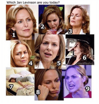 Memes, Today, and 🤖: Which Jan Levinson are you today?  2  3  6  theofficelolz  4  5  9  8 2 for me 😂😂 take your pick