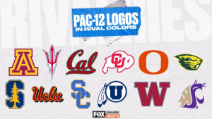 Which of these @pac12 logos hurts to look at the most? 😬 https://t.co/YWZeI5992J: Which of these @pac12 logos hurts to look at the most? 😬 https://t.co/YWZeI5992J