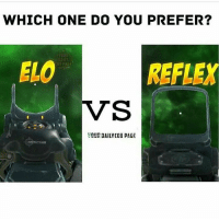 WHICH ONE DO YOU PREFER?  YALUR  on PAGE  ELO  REFLEX  VS  WDUR DAILY COO PAGE 🔸🔸🔸🔸🔸🔸🔸 Don't Hate, Just Relate 🔸🔸🔸🔸🔸🔸🔸🔸🔸🔸🔸 Link to my YouTube is in my bio 🔸🔸🔸🔸🔸🔸🔸🔸🔸🔸🔸 Follow my Twitter aswell 'hiitsrelate' 🔸🔸🔸🔸🔸🔸🔸🔸🔸🔸🔸 PC- @yourdailycodpage 🔸🔸🔸🔸🔸🔸🔸🔸🔸🔸🔸 codmemes callofduty cod aw ghosts bo2 mw3 memes comedy xbox xbox360 xboxone xbone xbl playstation ps4 ps3 games gaming funny bo3 codrelated