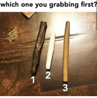 Memes, 🤖, and One: which one you grabbing first? Which one first @eatweedlove