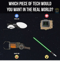 Which ever one kills me the quickest @vaultdude: WHICH PIECE OF TECH WOULD  YOU WANTIN THE REAL WORLD?  PORTAL GUN  GRAVITY GUN Which ever one kills me the quickest @vaultdude