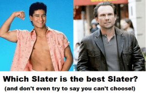 Gif, Life, and Tumblr: Which Slater is the best Slater?  (and don't even try to say you can't choose!) life-insurancequote: tom-aiac:  theccnetwork:   life-insurancequote:  It's a binary choice, PEOPLE! FOLLOW US to learn what you're supposed to think about everything.  Um… I believe you mean it'sa TERTIARY CHOICE!   HE'S GOT KIDS!!!  This has become too heated.  Everyone just calm down and vote for Christian.
