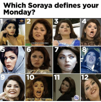 Combo of 1 & 9 lol 💯😂 FOLLOW @mexicancomedy @mexicancomedy latinas mexican latinos mexicans: Which Soraya defines your  Monday?  Televisa  CRIES IN SPANISH)  Stares n Spanish  10  12  LIRE  IFREAKS OUT IN SPANISH Combo of 1 & 9 lol 💯😂 FOLLOW @mexicancomedy @mexicancomedy latinas mexican latinos mexicans
