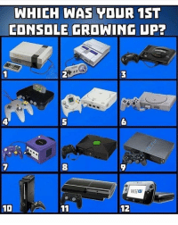 Club, Memes, and 🤖: WHICH WAS YOUR 1ST  CONSOLE GROWING UP7  8  WİİU  12 Ps2 😎 ( I'll buy another Ps2 just to play midnight club on it ) 🤣💯