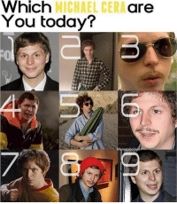 Michael Cera, Michael, and Today: Which  You today?  MICHAEL CERA  are  Memetabolisr