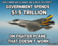 F-35 May Never Be Ready for Combat http://bit.ly/2gBsPEv #F35: WHILE AMERICANS GO HUNGRY AND SLEEP IN THE STREETS  GOVERNMENT SPENDS  $1.5 TRILLION  NAVY  ON FIGHTER PLANE  THAT DOESNT WORK  DAVIDICKE COM F-35 May Never Be Ready for Combat http://bit.ly/2gBsPEv #F35