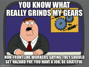 While the rest of us are laid off and struggling to make our bills, these are people getting paid a lot more than EI or the government programs: While the rest of us are laid off and struggling to make our bills, these are people getting paid a lot more than EI or the government programs