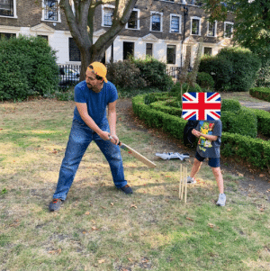 While visiting a friend in London, a local youth invited me to join the kids for cricket. Me: Sorry, I don't know the rules, I'm American. Youth: Don't worry, I have faith that you can learn, EVEN THOUGH you're American.  Me: ... https://t.co/R0wFv15ldC: While visiting a friend in London, a local youth invited me to join the kids for cricket. Me: Sorry, I don't know the rules, I'm American. Youth: Don't worry, I have faith that you can learn, EVEN THOUGH you're American.  Me: ... https://t.co/R0wFv15ldC