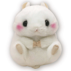 Tumblr, Blog, and Good: whirelez: Plush Hamster Doll Standard sizeSize H13 x W12 x D12 cmSize H5.1 x W4.7 x D4.7 inchesgood texture https://tinyurl.com/yc9p67uq