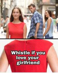 Love, Memes, and Girlfriend: Whistle if you  love your  girlfriend https://t.co/Y3HwKLPzsA