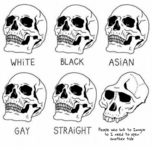 Asian, Dank, and Memes: WHİTE  BLACK  ASIAN  GAY  STRAİGHT  People who link to Imau  So I need to open  another tab Dont be that guy by Blunt_Machette MORE MEMES
