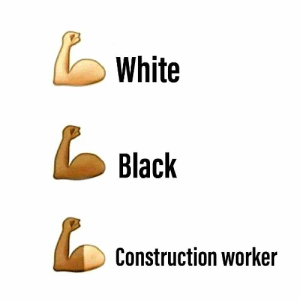 It's a brotherhood: White  Black  Construction worker It's a brotherhood