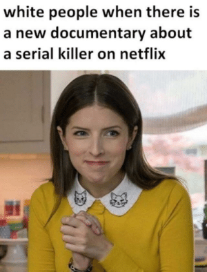 Dank, Memes, and Netflix: white people when there is  a new documentary about  a serial killer on netflix Honey get the fava beans! by StigIitz- MORE MEMES