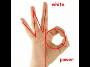 4chan Managed to Get The Ok Hand Signal Meme In Real Life - YouTube: white  power 4chan Managed to Get The Ok Hand Signal Meme In Real Life - YouTube