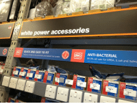 "<p>Is this racist? via /r/dank_meme <a href=""http://ift.tt/2gslzYm"">http://ift.tt/2gslzYm</a></p>: white power accessories  QUICK AND EASY TO FIT  Features indlude in-line terminals and backed out screws  ANTI-BACTERIAL  99.9% kill rate for MRSA, E.coli and Salmd  7  98  5.98  1498  E348 <p>Is this racist? via /r/dank_meme <a href=""http://ift.tt/2gslzYm"">http://ift.tt/2gslzYm</a></p>"