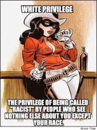 """FW: AWESOME Meme Brilliantly Explains HARD TRUTH About """"White Privilege"""": WHITE PRIVILEGE  THE PRIVILEGE OF BEINGCALLED  RACIST PEOPLE WHO SEE  NOTHINGELSE ABOUT YOU CEPT  YOUR RACE  Bruce Timm FW: AWESOME Meme Brilliantly Explains HARD TRUTH About """"White Privilege"""""""
