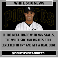 WHITE SOX NEWS  IF THE MEGA TRADE WITH Nww STALLS,  THE WHITE SOX AND PIRATES STILL  EXPECTED TO TRY AND GET A DEAL DONE. josequintana pirates whitesox traderumors hotstove mlb whitesoxnation whitesoxaddicts