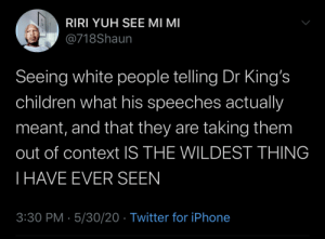White washed MLK got you white people talking reckless.: White washed MLK got you white people talking reckless.