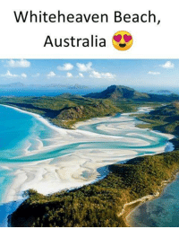 Memes, Australia, and Beach: Whiteheaven Beach,  Australia