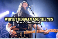"""Memes, Country Music, and Discover: WHITEY MORGAN AND THE 78'S  """"Crazy"""" (Live Video) Every time this video is shared, someone discovers real country music!  Crazy by Whitey Morgan and the 78's."""