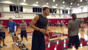 """Who's who from the 2012 """"He didn't even stretch doe"""" video of Blake Griffin dunking in front of a bunch of future NBA players.   https://t.co/8B8CmArJpG: Who's who from the 2012 """"He didn't even stretch doe"""" video of Blake Griffin dunking in front of a bunch of future NBA players.   https://t.co/8B8CmArJpG"""