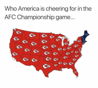 AFC Championship Game, America, and Funny: Who America is cheering for in the  AFC Championship game