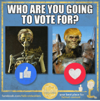 It's like choosing a faction in real life... Except neither of them are run by your son -Mechanist: WHO ARE YOU GOING  TO VOTE FOR?  FALLO  DWELLER  your best place for  facebook.com/falloutdwellers  fallout content It's like choosing a faction in real life... Except neither of them are run by your son -Mechanist
