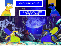 Who, You, and Who Are You: WHO ARE YOu?  I AM You, BUT  STRONGER