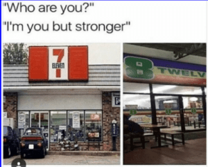 """20 Of The Funniest Pics On The Net: """"Who are you?""""  """"I'm you but stronger""""  LEVE 20 Of The Funniest Pics On The Net"""