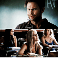 Memes, Best, and History: Who are you?  My name's Rebekah, i'm new, and history's my favourite subject. [3.06] — history is the best subject though Q: Alaric or Rebekah?
