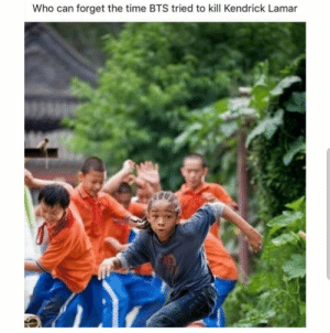 Kendrick Lamar, Music, and Time: Who can forget the time BTS tried to kill Kendrick Lamar Music rivalries