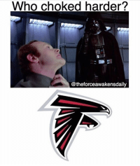COMMENT YOUR TEAM: Who choked harder?  @theforceawakensdaily COMMENT YOUR TEAM