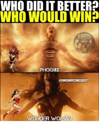 Amazon, Batman, and Click: WHO DID IT BETTER?  WHO WOULD WIN  COMIC  PODCAST  DE  PHIOENIX  UNCANNYCOMICQUEST  WONDER WWOMAN TWO DIFFERENT UNIVERSES. Maybe it's obvious but I want to hear what all of you think. Sometimes people have good logic for either side . . . 🚨don't forget to CLICK THE LINK IN MY BIO to subscribe to our YouTube page for a chance to win JUSTICE LEAGUE GEAR!🚨 . . . sophieturner galgadot phoenix darkphoenix darkphoenixsaga xmen mutant god amazon wonderwoman chrispine dcrebirth dccomics dceu dctv marvel inhumans inhuman agentsofshield batman superman wonderwoman aquaman greenarrow arrow greenlantern theflash flash captainamerica doctorstrange