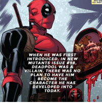 whats your favorite deadpool fact?😎 • • • • Follow @deadpoolfacts for your daily Deadpool dose. 👇👇👇👇 ryanreynolds xforce deadpool2 mcu infinitywar blackpanther comiccon deadpool marvel: WHO DID  KILL AND  WHEN HE WAS FIRST  INTRODUCED, IN NEW  MUTANTS ISSUE #98,  DEADPOOL WAS A  VILLAIN. THERE WAS NO  PLAN TO HAVE HIM  BECOME THE  CHARACTER HE HAS  DEVELOPED INTO  TODAY.  DEADPO whats your favorite deadpool fact?😎 • • • • Follow @deadpoolfacts for your daily Deadpool dose. 👇👇👇👇 ryanreynolds xforce deadpool2 mcu infinitywar blackpanther comiccon deadpool marvel