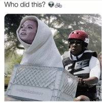 ET phone home: Who did this? d ET phone home
