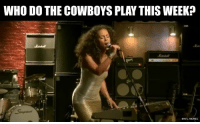 Dallas Cowboys, Memes, and Nfl: WHO DO THE COWBOYS PLAY THIS WEEK?  ENFL MEMES