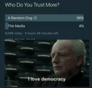 Who do you trust more? by SuicidalNothingness MORE MEMES: Who do you trust more? by SuicidalNothingness MORE MEMES
