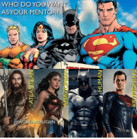 "WELCOME TO THE LEAGUE! * Where Does Your Allegiance Lie? The King @prideofgypsies ""3-4 of this world is my kingdom...swim carefully"" * The Goddess @gal_gadot ""We Amazons are warriors born...want to test me"" * The Knight @benaffleck (this mentorship includes Flash and Cyborg) ""I am vengeance...I am the knight...I am Batman"" * The Savior @henrycavill ""It's not an 'S'...on my world it means hope"" *** unitetheleague benaffleck brucewayne galgadot dianaprince jasonmomoa arthurcurry henrycavill clarkkent manofsteel thedarkknight girlpower women femaleempowerment MulherMaravilha MujerMaravilla: WHO DO YOUWAN  ASYOUR MENTOR?  ld  @WONDERVAUGHN WELCOME TO THE LEAGUE! * Where Does Your Allegiance Lie? The King @prideofgypsies ""3-4 of this world is my kingdom...swim carefully"" * The Goddess @gal_gadot ""We Amazons are warriors born...want to test me"" * The Knight @benaffleck (this mentorship includes Flash and Cyborg) ""I am vengeance...I am the knight...I am Batman"" * The Savior @henrycavill ""It's not an 'S'...on my world it means hope"" *** unitetheleague benaffleck brucewayne galgadot dianaprince jasonmomoa arthurcurry henrycavill clarkkent manofsteel thedarkknight girlpower women femaleempowerment MulherMaravilha MujerMaravilla"