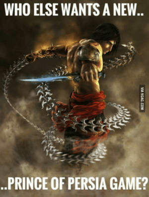 Music form warrior within still epic.: WHO ELSE WANTS A NEW  .PRINCE OF PERSIA GAME? Music form warrior within still epic.