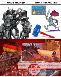 Meme, Memes, and Earth: WHO I MAINED  WHAT I EXPECTED  Earthquake Kills Thousands, Destroys Several Historic Landmarks  www.infoplease com W  s Nepal Kaanna tama sivu  Earthquake Kills Thou  eral listoric Landmarks. A magnitude 7.0 earth  STOP  on April 25,  Struck central Nepal  HAMMER  TIME I approve! Overwatch Overwatchmeme Reinhardtmeme Reinhardt meme