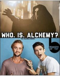 Memes, Saw, and Alchemy: WHO, IS, ALCHEMY?  IGIBLERDVISION Most obvious reveal of all time and everybody saw it coming.  (Cassius) Geek Lives Matter